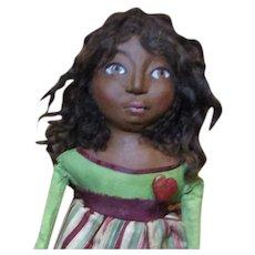 Little Lyla a sculpted Black doll by Jude Kapron OOAK original