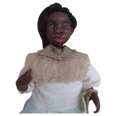 Wonderful Black doll primitive OOAK sculpt