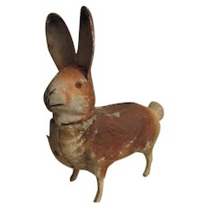 Adorable old Bunny Rabbit candy container prim