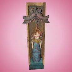 Sculpted primitive Fairy by Jude Kapron OOAK