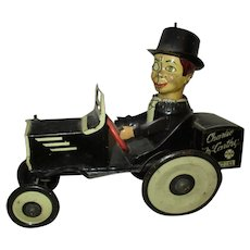 Awesome Charlie McCarthy Marx working wind up car
