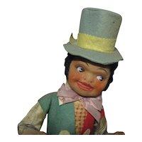 Amazing black doll n candybox