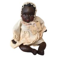 Adorable Black baby doll by Janada
