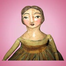 Great primitive art doll original OOAK