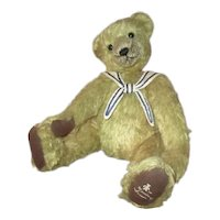 Darling mohair Teddy bear/ Sailor artist original
