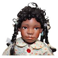 Adorable bisque Black doll