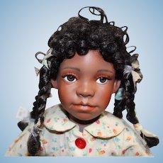 Adorable bisque Black doll