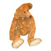 Adorable primitive hump backed Artist Teddy Bear