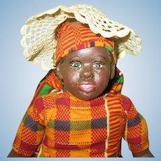 Adorable Black doll original sculpt OOAK