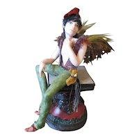 Wonderful sculpted male Fairy OOAK