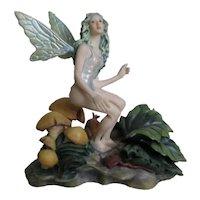 Gorgeous bisque Fairy by James C Christensen