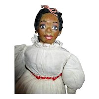 Great original vintage Black doll