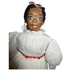 Great original vintage Black doll