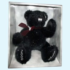 Millennium jointed Teddy bear still in box