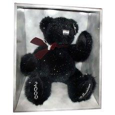 Millennium jointed Teddy bear still in box