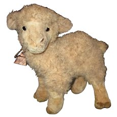 Artist primitive lamb for your doll to hold