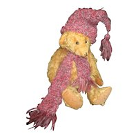 Darling hand made scarf and hat for your Teddy or doll
