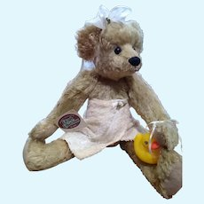Sweet mohair Teddy by Sue Coe