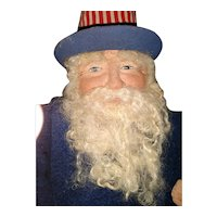 Great Artist Patriotic Santa