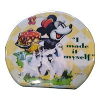 wonderful Minnie Mouse metal lunch box