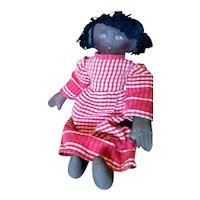 Adorable primitive Black doll