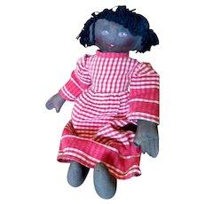 Adorable primitive Black doll