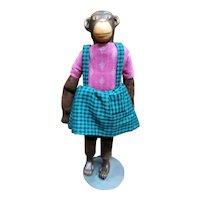 Sweet little girl monkey