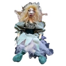 Wonderful artist cloth molded Fairy
