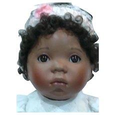 Beautiful Black bisque baby