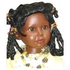 Gorgeous large Black doll