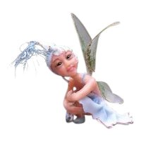 Darling teeny one of a kind fairy