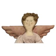 Folk art primitive Angel