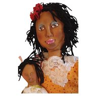 Great Folk art Black dolls