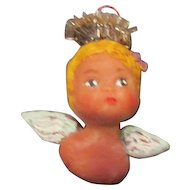 Angel  sculpted OOAK ornament by Jude Kapron
