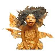 Black OOAK Fairy