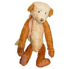 Darling jointed mohair Artist bear