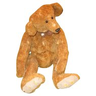 Adorable Worn hump backed Artist Teddy Bear