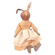 Adorable sculpted Bunny rabbit
