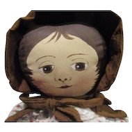 Adorable cloth doll one of a kind