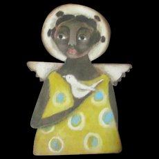 Great black angel By Karen Milstein