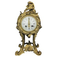 Magnificent 19th C. French Gilt Bronze Clock