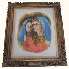 Sandu Liberman Two sisters Artist Proof