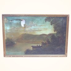 1800's Oil landscape painting