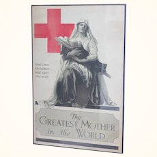 Original Alonzo Earl Foringer art rendering 1918 The greatest mother in the world