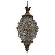 Mid-Century Swag Lamp