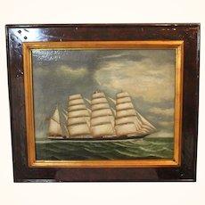Nautical British Warship Cutter