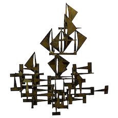 Mid Century Curtis Jere the famed metal sculptor