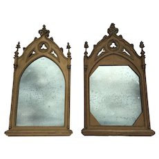 Gothic revival mirrors