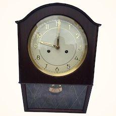Deco Period Junghans wall clock