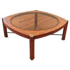 Bernhard Rohne for Mastercraft Tre-Foil Designed  table